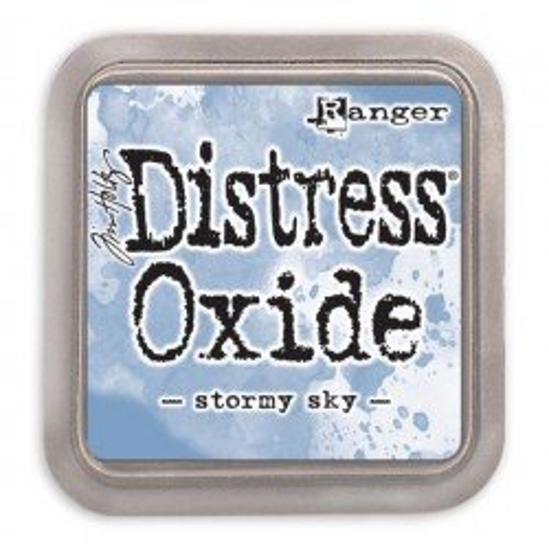 Grand encreur bleu Distress Oxide - Stormy Sky - Ranger