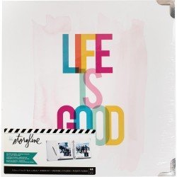 Album Life Is Good - A4 américain - Storyline - Heidi Swapp
