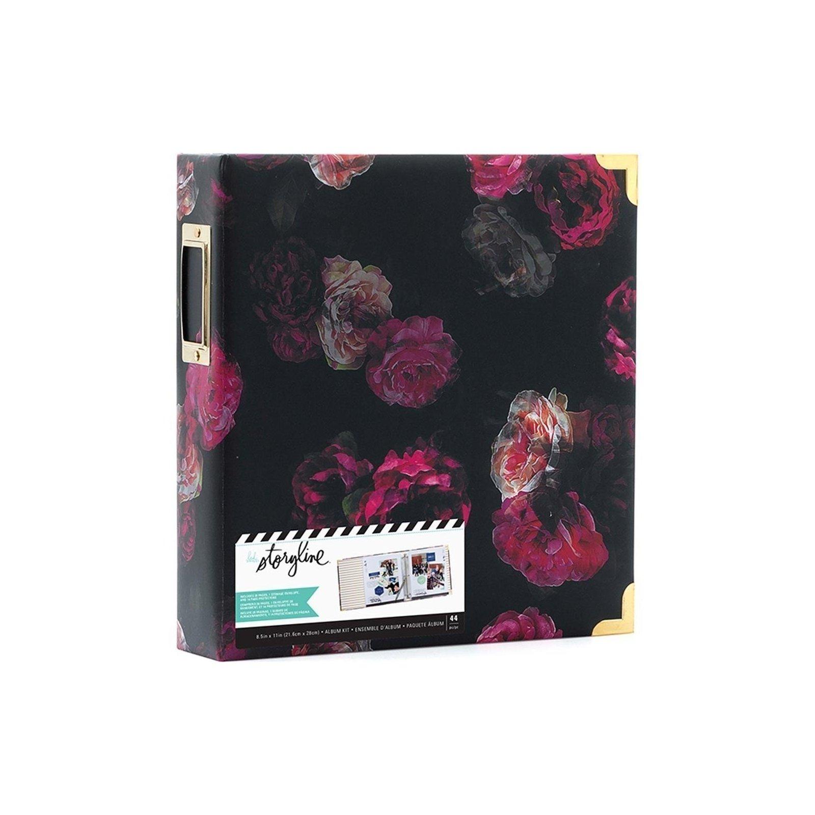 Album Dark Floral - A4 américain - Storyline - Heidi Swapp