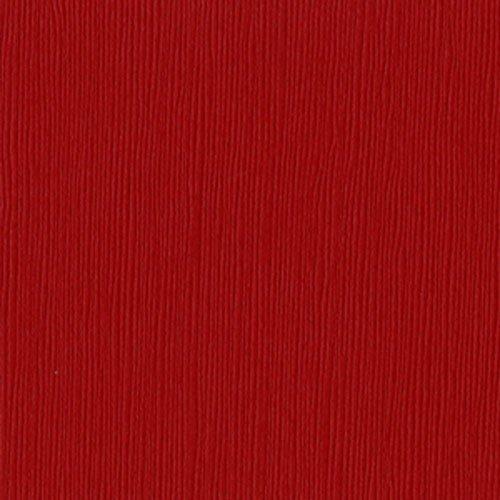 Papier rouge - Classic red - Fourz - Bazzill Basics Paper