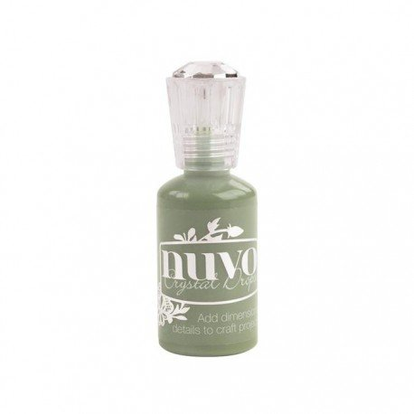 Nuvo Crystal Drops - Vert - Olive Branch - Tonic Studio