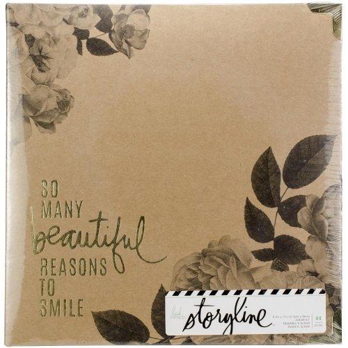 Album Floral - A4 américain - Storyline - Heidi Swapp
