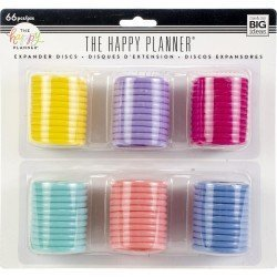 Assortiment de 6 couleurs de 11 grands discs - Me & My Big Idea