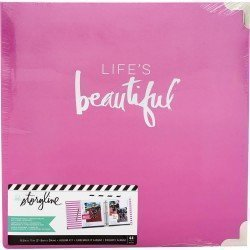 Album Life's beautiful - A4 américain - Storyline - Heidi Swapp