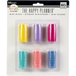 Assortiment de 6 couleurs de 11 petits discs - Me & My Big Idea