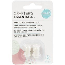 Lames de rechange pour le Circle Spin & Trim - Crafter's Essentials - We R memory keepers