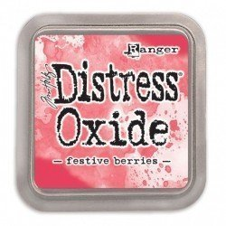 Grand encreur rouge Distress Oxide - Festive Berries - Ranger