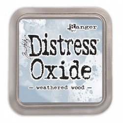 Grand encreur gris Distress Oxide - Weathered Wood - Ranger