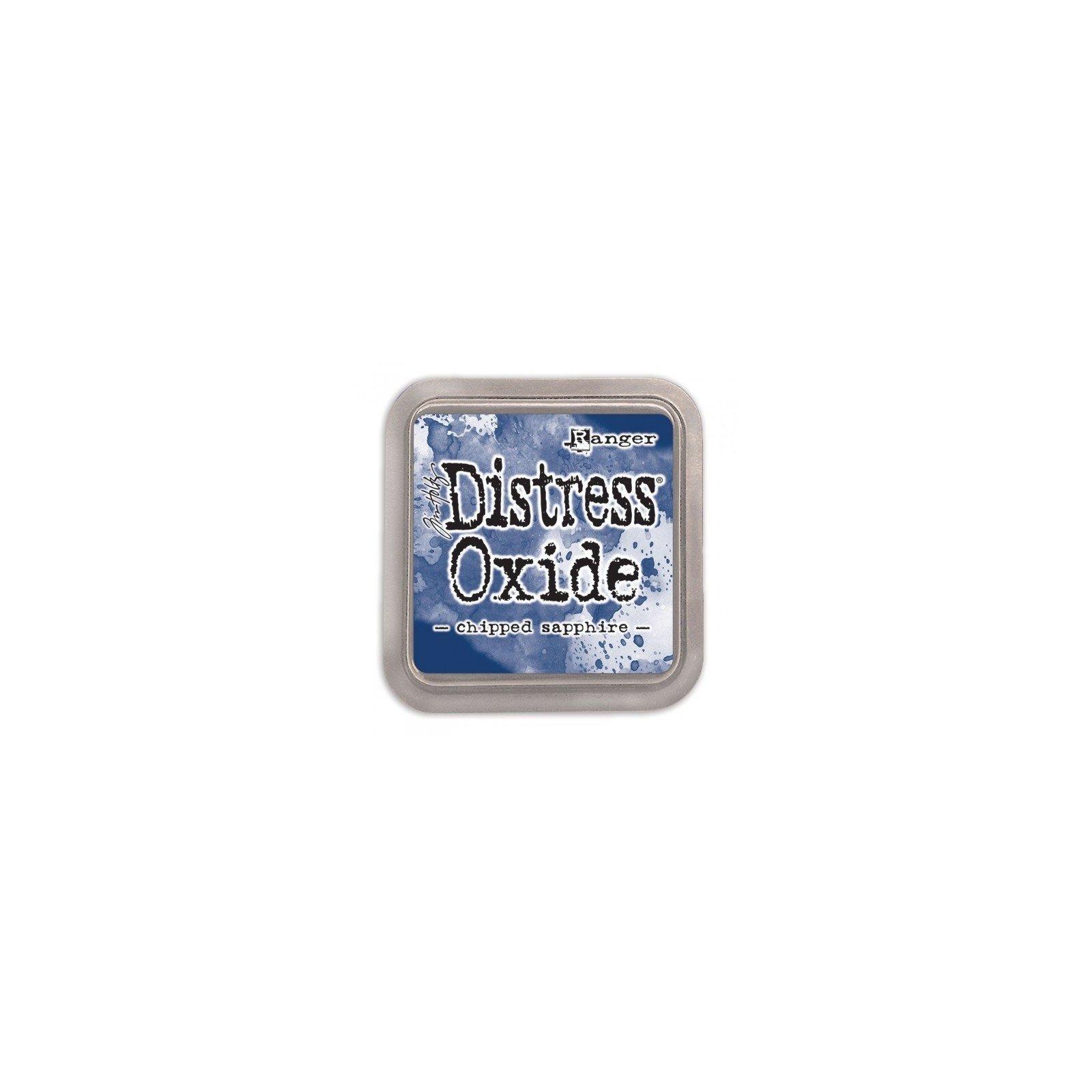 Grand encreur bleu Distress Oxide - Chipped Sapphire - Ranger