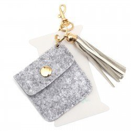 Porte-clés en feutrine et support pour washi tape - We R Memory Keepers