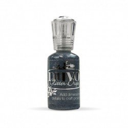 Nuvo Glitter Drops - Bleu pailleté - Midnight Sky - Tonic Studio