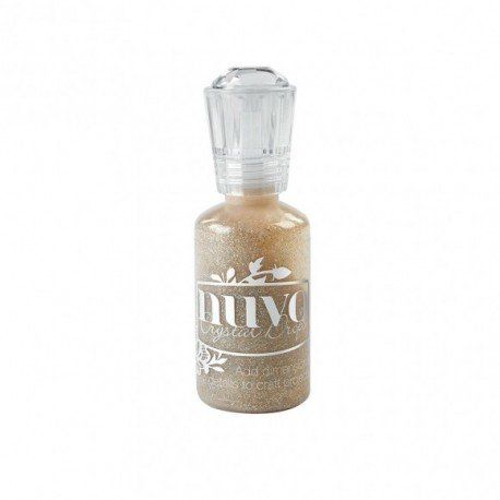 Nuvo Glitter Drops - Doré pailleté - Honey Gold - Tonic Studio