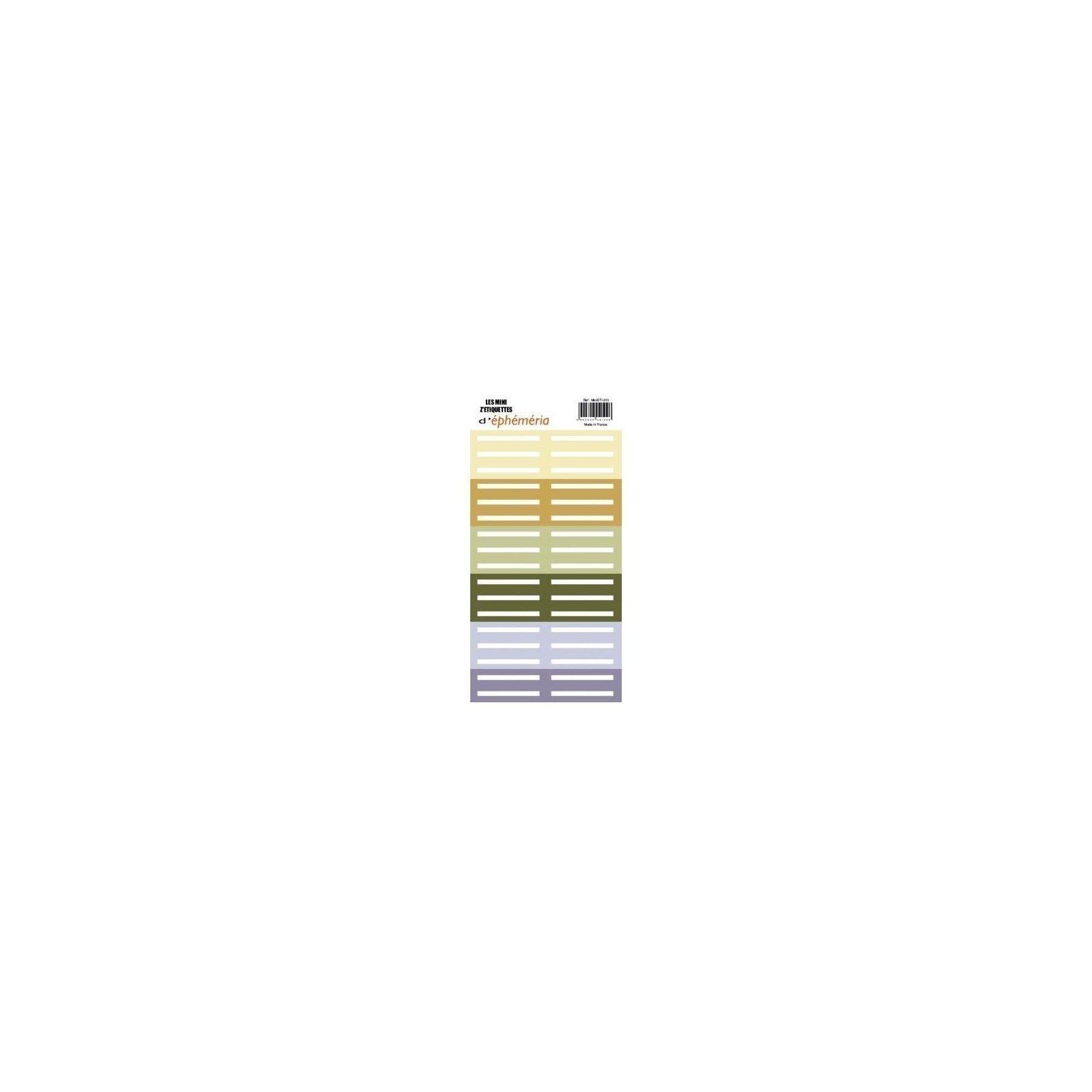 Les mini z'étiquettes - Naturelle - Ephemeria