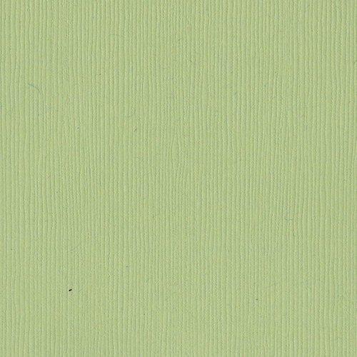 Papier vert pastel - Spring Breeze - Brise printanière - Fourz - Bazzill Basics Paper