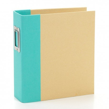 Album SN@P! Kraft et turquoise - 15x20 - Simple Stories