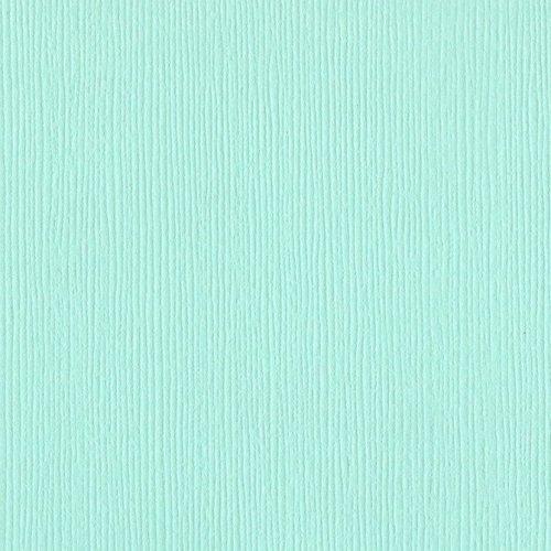 Papier vert d'eau - Turquoise mist - Fourz - Bazzill Basics Paper