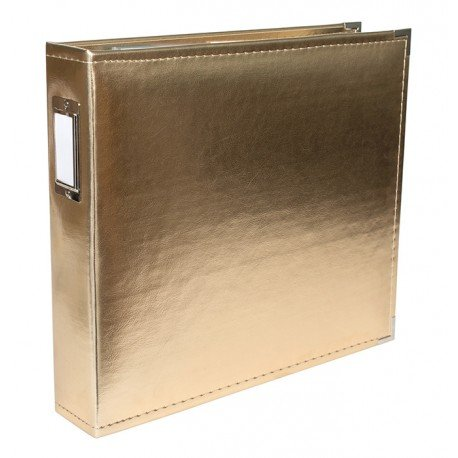 Album - Gold - Classic Leather - 30x30 - We R Memory Keepers