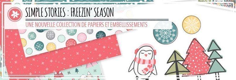 Nouveaux papiers de scrapbooking Freezin' Season