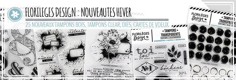 Nouveaux tampons bois, tampons clear, die