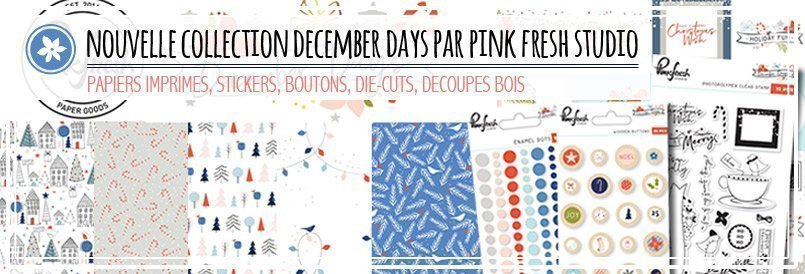 Nouvelle collection pour l'hiver par Pink Fresh Studio