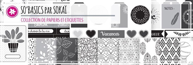 Collection de papiers de scrapbooking par Sokaï