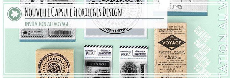 Nouvelle capsule scrapbooking par Florilèges Design
