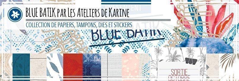 Nouvelle collection de scrapbooking par les Ateliers de karine