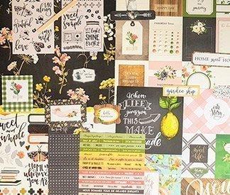 Kits mensuels de scrapbooking : planner, projet life et mini