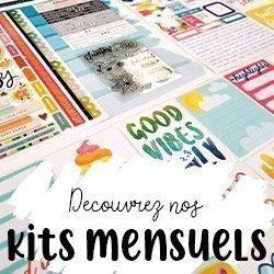 Kits mensuels de scrapbooking